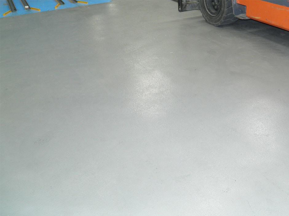 Forklift-urethane-floor