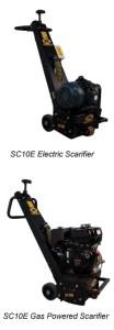 SC10E Scarifier