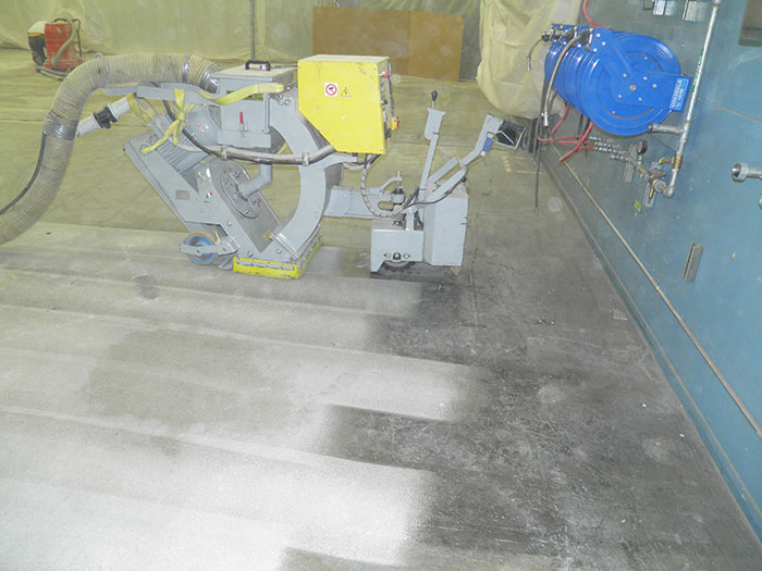 Yellow-Machine-floor-prep